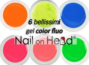 6 COLOR FLUO (5 ml)