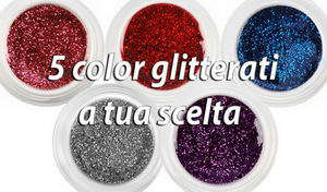 5 COLOR GLITTERATI (5 ml)